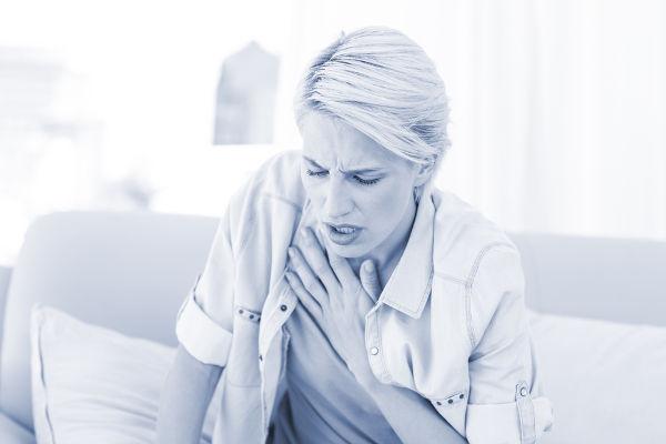 Dificuldade respiratória é um sintoma que pode ser usado como critério para diagnosticar a embolia pulmonar.